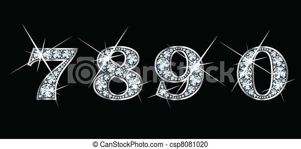 Diamond 7, 8, 9, 0 - csp8081020