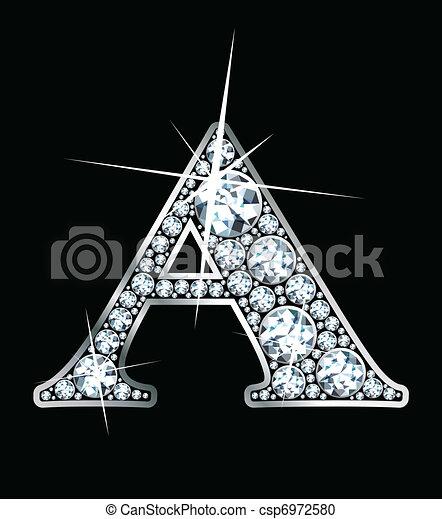 """Diamond \""""A\"""" - csp6972580"""