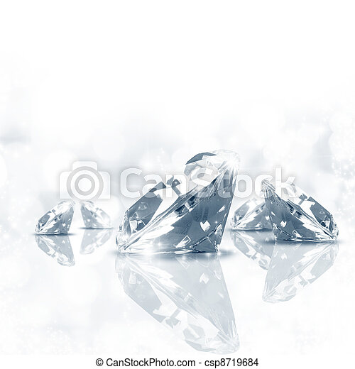 Diamond background - csp8719684