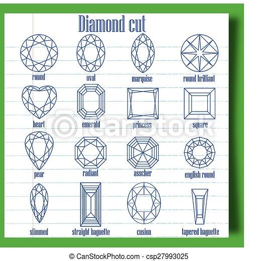 Emerald Cut Vector