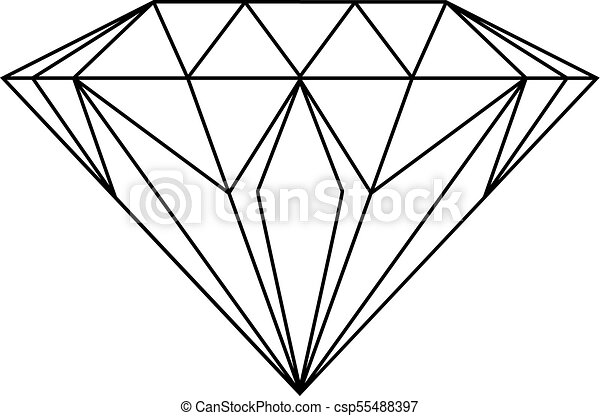 diamond drawing https www canstockphoto com diamond drawing 55488397 html