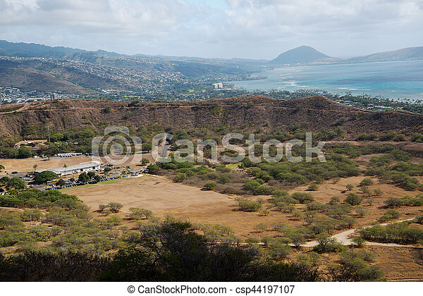 Diamond Head Crater - csp44197107