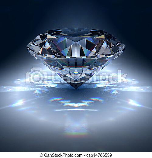 Diamond jewel - csp14786539