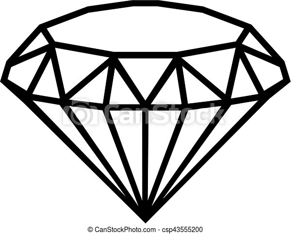 Diamond outline - csp43555200