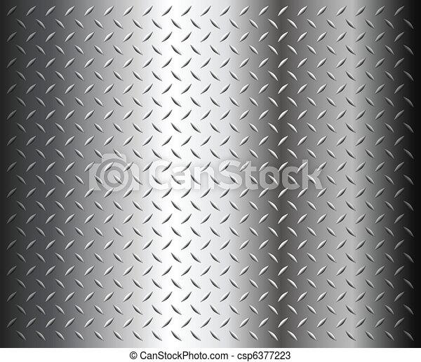 diamond plate texture - csp6377223