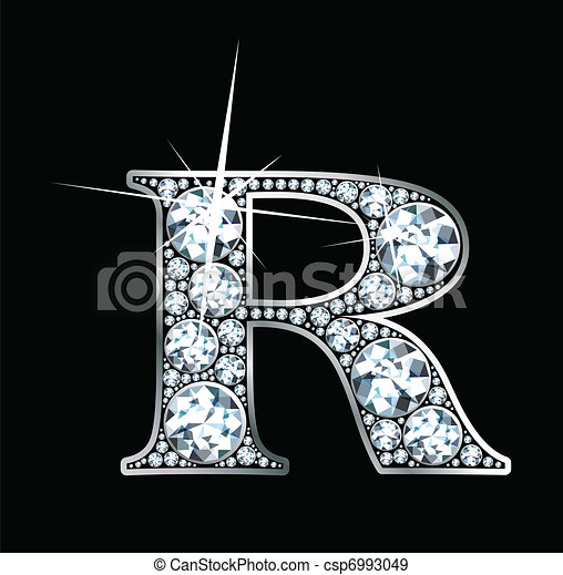 "Diamond ""R"" Vector - csp6993049"
