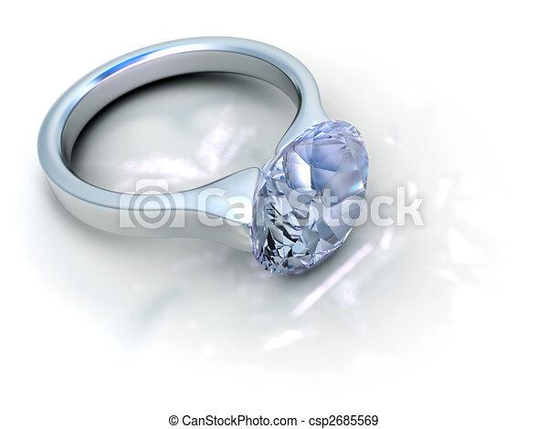 Diamond ring - csp2685569