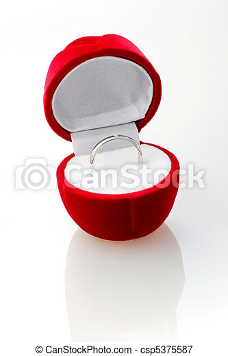 Diamond ring in the red box. - csp5375587