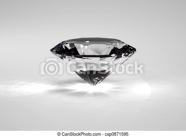 Line Drawing Diamond : Hi res rendering diamond stock illustrations search clipart