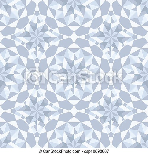 Diamond stone seamless background.  - csp10898687