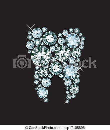 Diamond Tooth - csp17108896