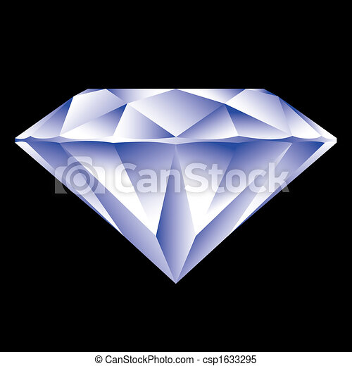 Diamond vector - csp1633295