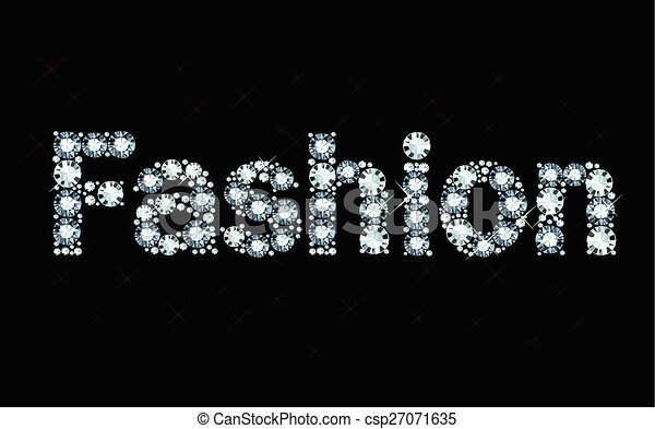 diamond word fashion word fashion made of shiny diamonds necklace clipart images necklace clipart png