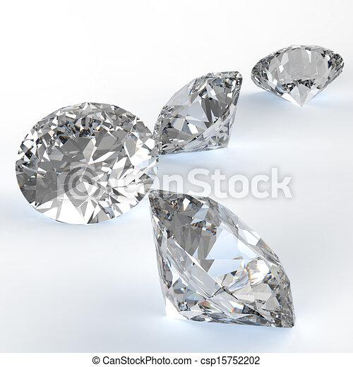 Diamonds  - csp15752202
