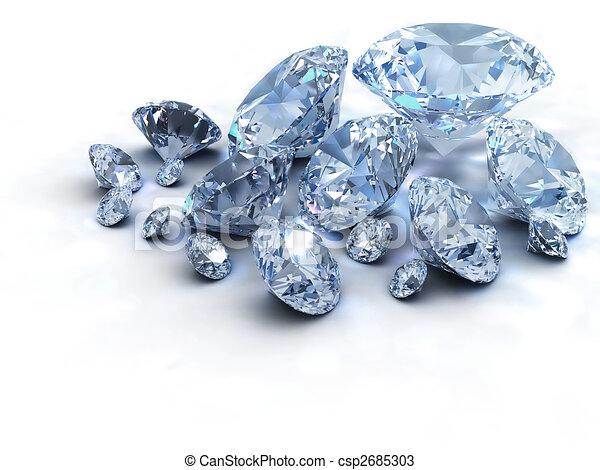 Diamonds - csp2685303