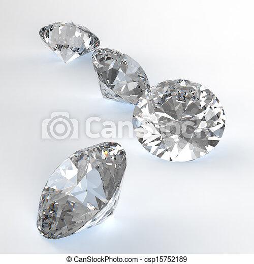 Diamonds  - csp15752189