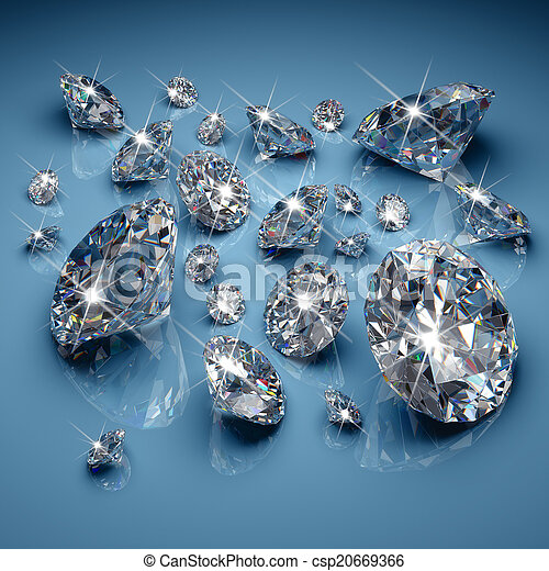Diamonds - csp20669366