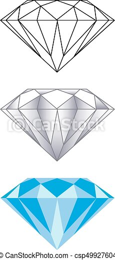 Diamonds - csp49927604