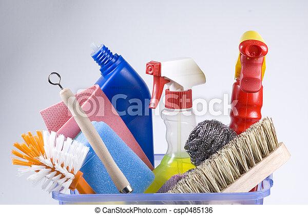 Limpieza diaria - csp0485136