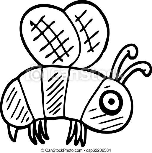 Dibujo de dibujos animados - csp62206584