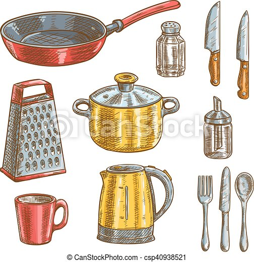 Dibujos utensilios cocina cocina dibujos coctelera for Utensilios de cocina nombres e imagenes