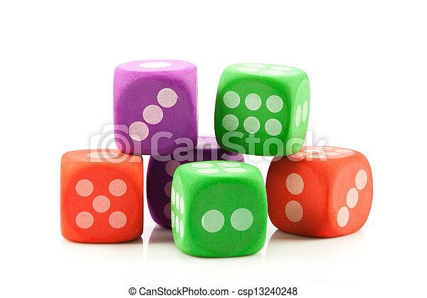 dice. - csp13240248