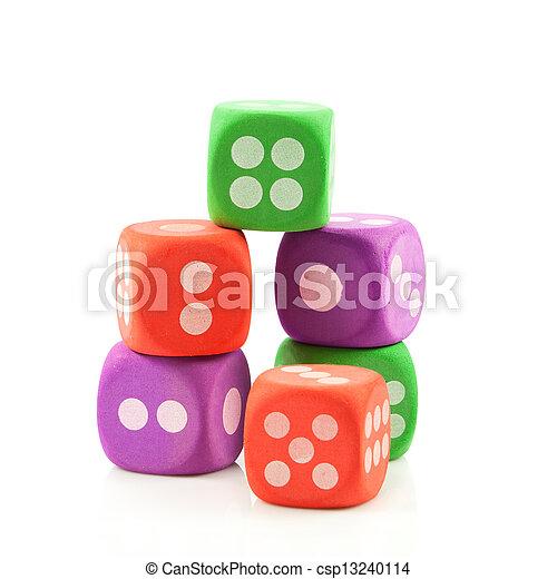 dice. - csp13240114