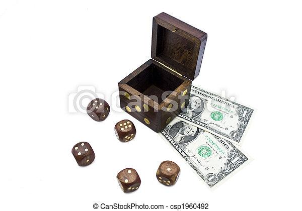 dice and money - csp1960492