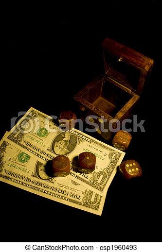 dice and money - csp1960493