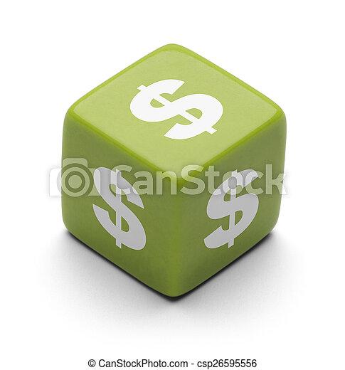 Dice Money - csp26595556