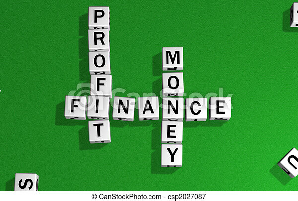 dice profit, finance and money - csp2027087