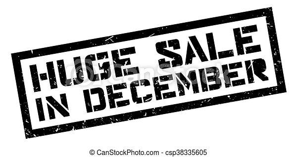 Gran venta en diciembre - csp38335605