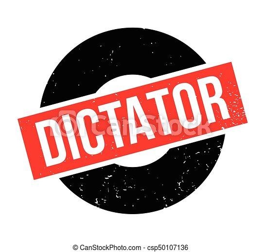 Dictator rubber stamp - csp50107136