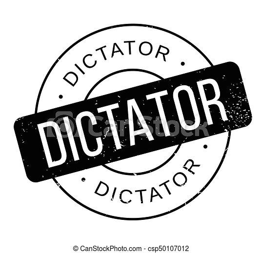 Dictator rubber stamp - csp50107012