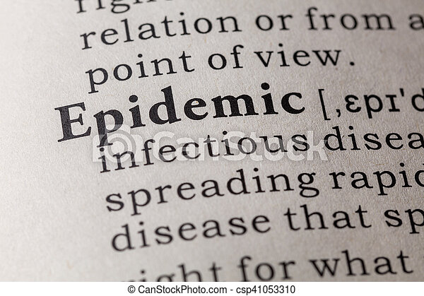 Dictionary Definition Of Epidemic   Csp41053310