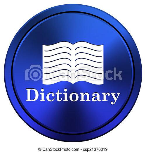 Dictionary icon - csp21376819