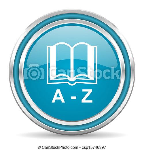 dictionary icon - csp15746397