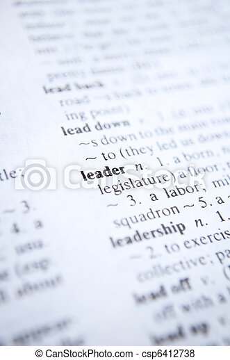 definition of the word leadership