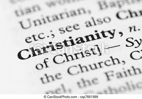 Dictionary Series - Christianity - csp7661999