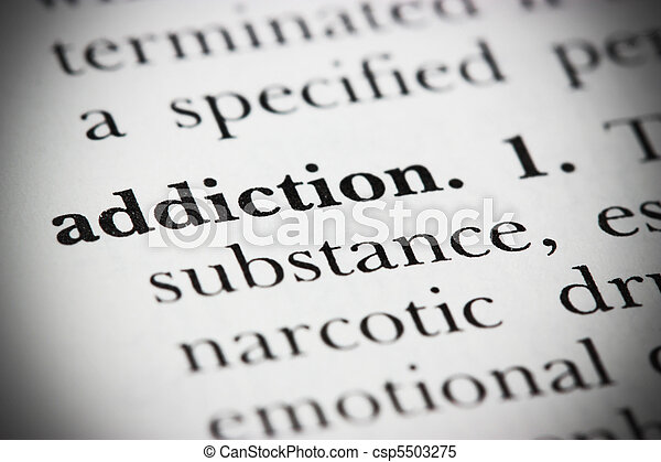 Dictionary Word Addiction - csp5503275