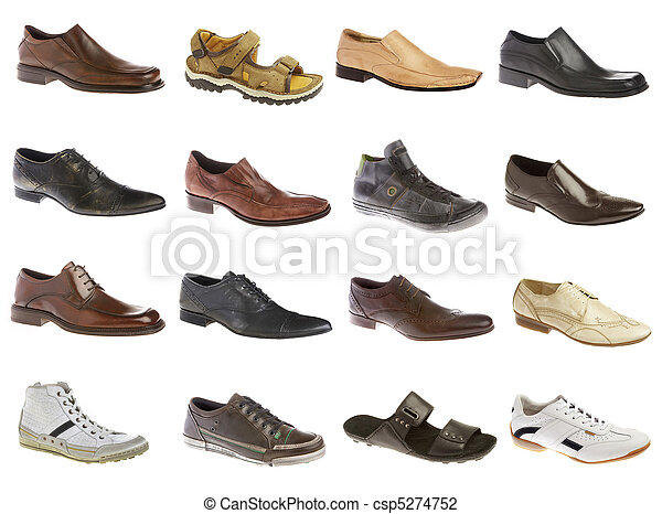 dieciséis, shoes, hombre - csp5274752