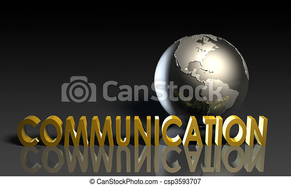 diensten, communicatie - csp3593707