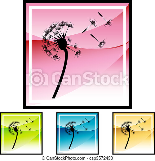 Dandelion - csp3572430
