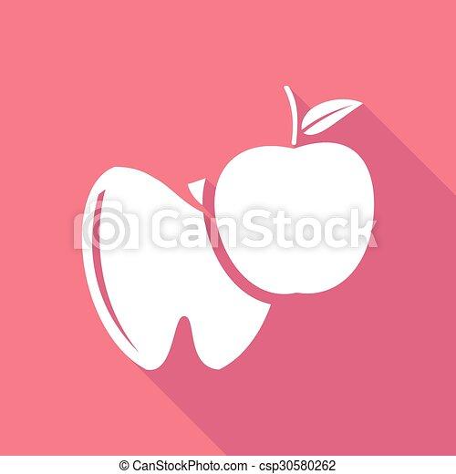Ícono de dientes - csp30580262