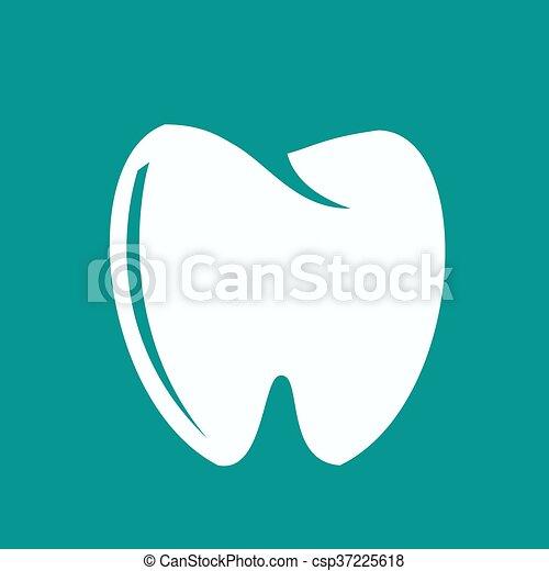 Ícono de dientes - csp37225618