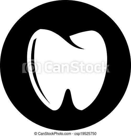 Ícono de dientes - csp19525750