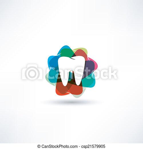 Ícono de dientes - csp21579905