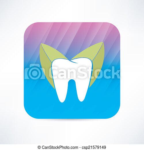 Ícono de dientes - csp21579149