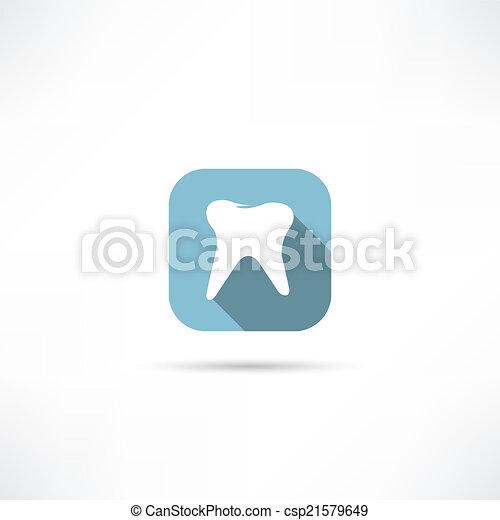 Ícono de dientes - csp21579649