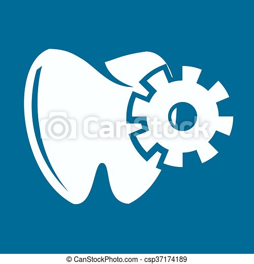 Ícono de dientes - csp37174189